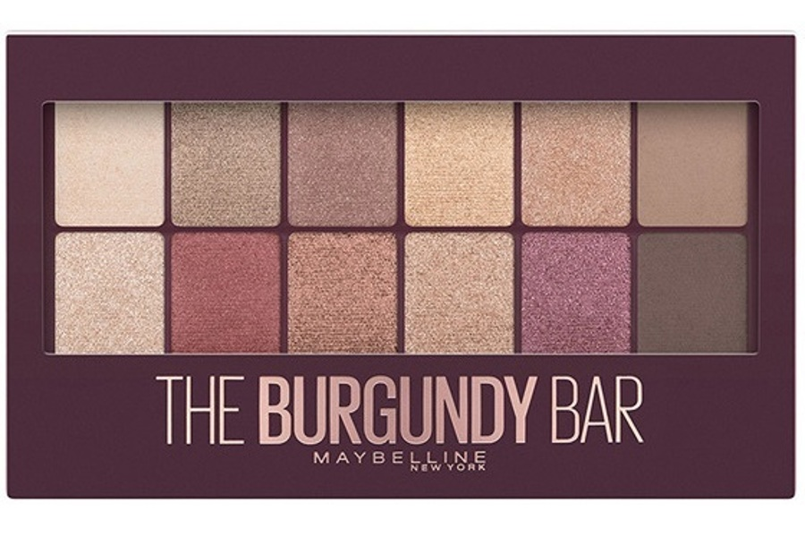 Maybelline New York The Burgundy Bar Palette