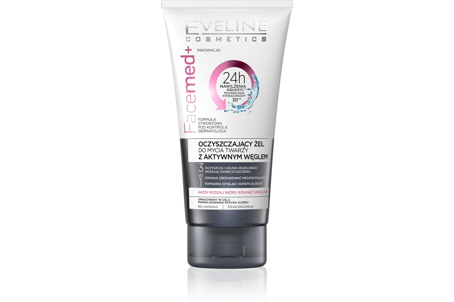 Cleansing Face Gel with Active Carbon