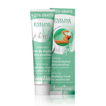 Moisturizing Depilatory Cream for sensitive skin