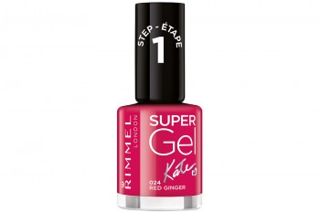 Nail Polish SuperGel 24 Red Ginger