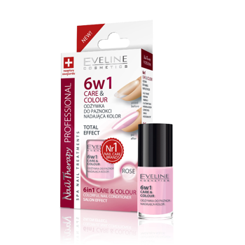 Care & Colour Colorful Nail Conditioner Rose