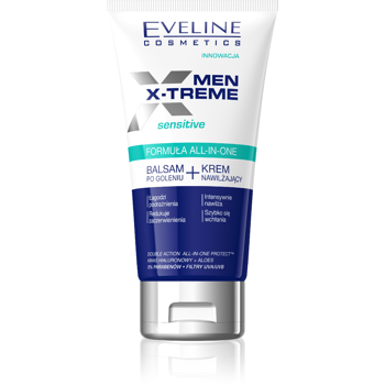 All -in-one Formula After Shave Balm and Moisturizing Face Cream