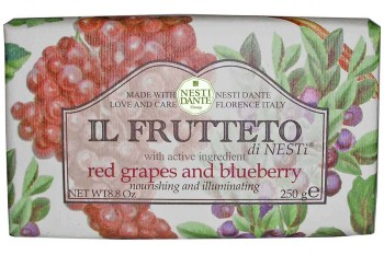 Red Grapes and Blueberry Soap