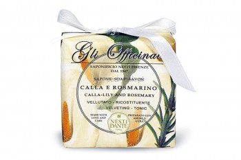 Calla Lily and Rosemary Soap