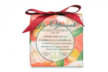 Camellia and Cinnamon Soap
