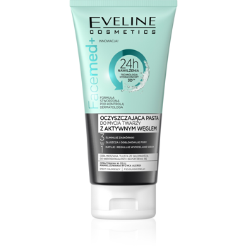 Cleansing Face Paste with Active Carbon
