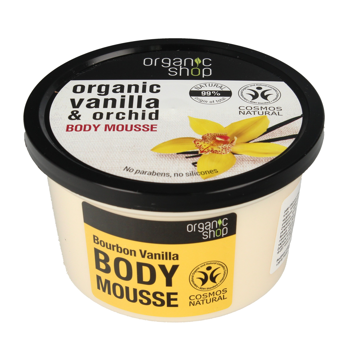 Body Mousse Bourbon Vanilla