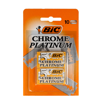 Chrome Platinum Razor Blades