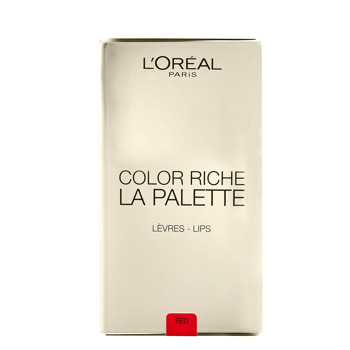 La Palette 02 Lip Red